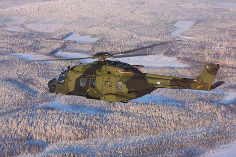 La Finlande a réceptionné son vingtième et dernier hélicoptère NH-90TTH | Veille de l'industrie aéronautique et spatiale - Salon du Bourget | Scoop.it