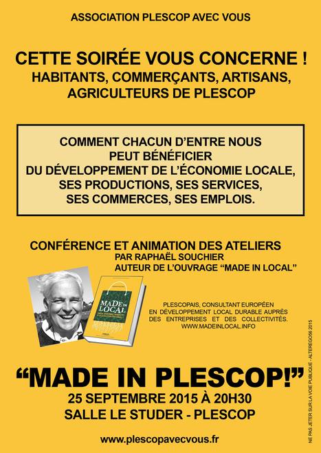 Entreprises et citoyens de Plescop (56) veulent renforcer leur économie locale. | ECONOMIES LOCALES VIVANTES | Scoop.it