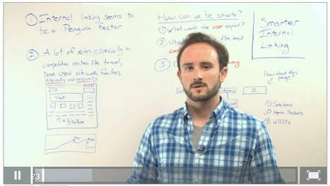 Google Penguin: How To Do Smarter Internal Linking - Whiteboard Friday [Video] | Mind Goal Success | Scoop.it