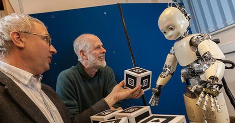 Un robot apprend à parler grâce à un humain | Actualités robots et humanoïdes | Scoop.it