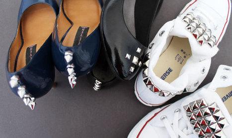 DIY Basics: Studded Flats, Chucks, and Pumps | Fashion | Scoop.it