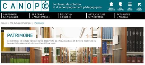 #JEP2016 #EACCanope Patrimoine - Comprendre l'héritage culturel... @reseau_canope | loudoufinen | Scoop.it
