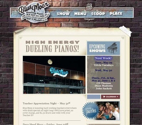 50 Really Cool Retro Vintage Style Websites for Inspiration | Design Inspiration | CRAW | Scoop.it