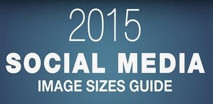 Le guide 2015 des tailles des images sur les réseaux sociaux | coups de coeur & état d'âme | Scoop.it