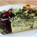 Farmer's Market Vegetable Quiche Recipe from 2 Sparrows   Simple Recipes   Scoop.it