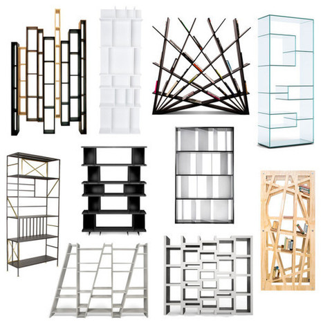 Roundup: 10 Cool, Modern Bookshelves - decoration News | Book Shelves | Scoop.it