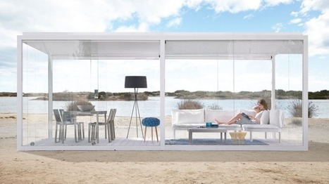 Spanish designer unveils portable glass box | Immobilier | Scoop.it