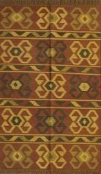 Rugsville Spirit Brown Jute & Wool Kilims 13642 Rug - KILIMS | Modern and Contemporary Rugs | Scoop.it