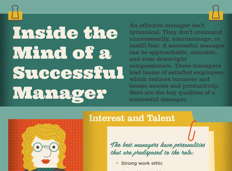Inside the mind of a successful manager [infographic] | Happiness At Work - Hppy Scoop | Scoop.it