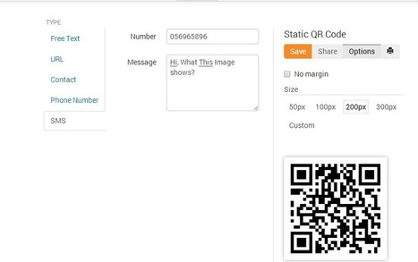 How to Generate QR code for your Site, Text Sms and Contact info | Tech Tips | Check this out | Scoop.it