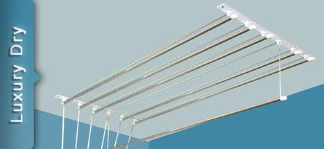 cloth drying ceiling hanger rack pulley hanger. Black Bedroom Furniture Sets. Home Design Ideas
