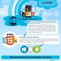 PhoneGap Development - Some Cool & Astonishing Features [Infographic] | Mobile Apps News, Blogs and Articles | Scoop.it
