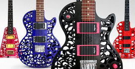 3D Printed Guitars from Olaf Diegel by Cubify | 3D Printing and Fabbing | Scoop.it