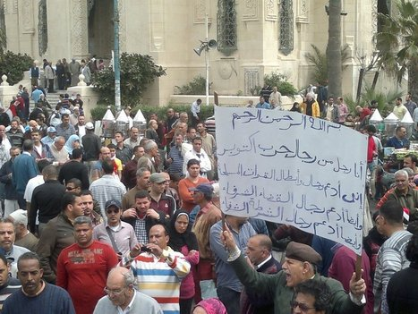 Demonstrators protest against Mursi in several Egyptian cities | Égypt-actus | Scoop.it
