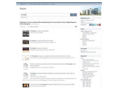 Nuevo diseño | Archivo Digital España Unión Europea | Recursos Educativos Abiertos Repositorios de Economia Internacional | Scoop.it