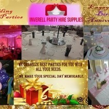Inverell Party Hire Supplies- Make Your Special Day Unforgettable | Visual.ly | Make Your Special Occassion Memorable With Us | Scoop.it