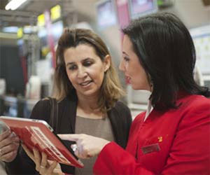 Airport customer service agents go mobile - Future Travel Experience #connected #airline #mobile #tablet #CX #service | Connected Airline | Scoop.it