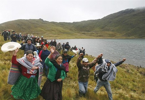 Protest in Peru against U.S. mining company | Chris' Regional Geography | Scoop.it