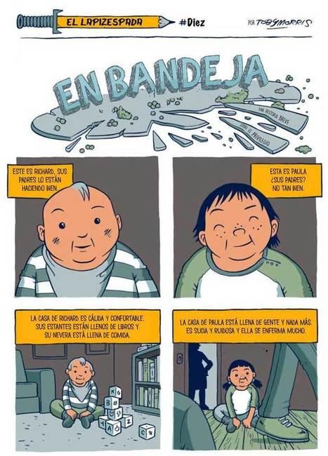 La desigualdad en la infancia en una imagen… para pensar | Pedalogica: educación y TIC | Scoop.it