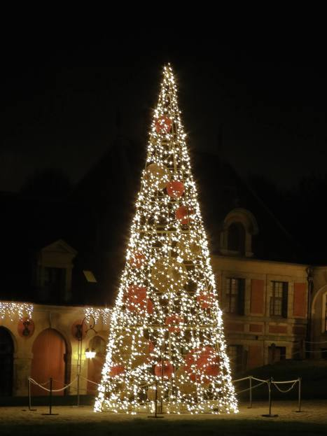 Noël : au Chateau de Vaux-le-Vicomte, des illuminations grandioses | Actualité des monuments historiques en France | Scoop.it