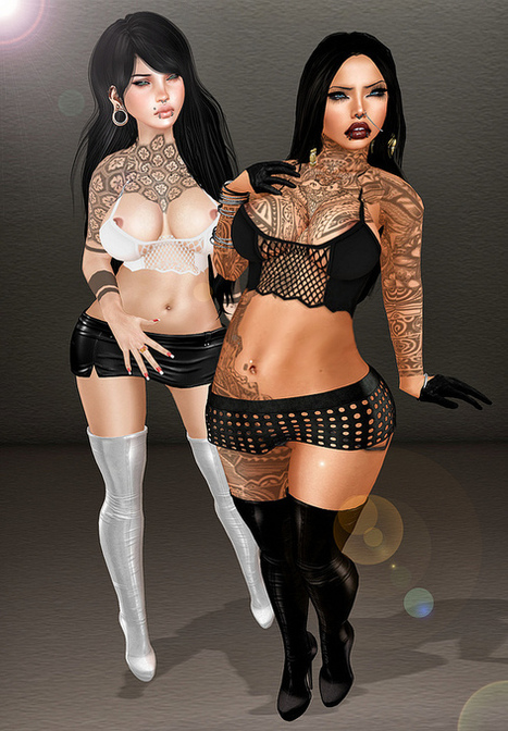 Mae & Danna | Second Life Fashion | Scoop.it