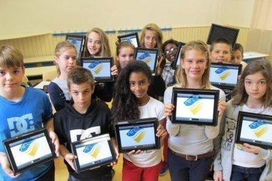 Une tablette numérique dans les cartables | Enseignement TICE | Scoop.it
