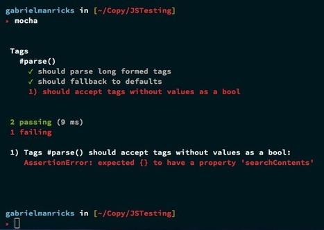 Testing in Node.js | Nettuts+ | VTECL Node.js | Scoop.it