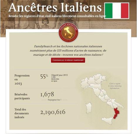 Vous avez réussi ! Le week-end des registres italiens | Histoire Familiale | Scoop.it
