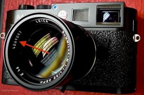 How to determine the production year of a Leica lens based on the serial number | Photography Gear News | Scoop.it