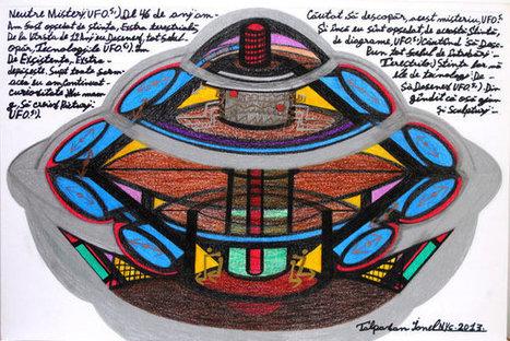 Ionel Talpazan, Whose U.F.O. Art Had Sightings All Over, Dies at 60   Art brut   Scoop.it