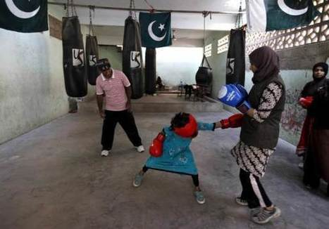 In Pakistan, young female boxers punch through gender barriers | The Scoreline Diminishes | Scoop.it