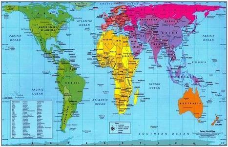 Un mundo diferente en cada mapa: de Mercator a Gall-Peters - ABC.es   Cooperación Universitaria para el Desarrollo Sostenible. MODELO MOP-GECUDES   Scoop.it