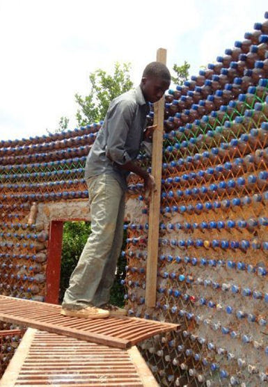 Plastic Bottle House, Developmental Association for Renewable Energies | AP Human Geography Education | Scoop.it