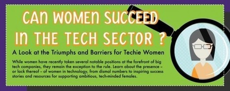 Women in Technology: Triumphs and Barriers | Soup for thought | Scoop.it
