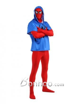 Spandex Blue And Red Scarlet Spiderman Unisex Zentai [201b015] - $60.00 : Shopping Cheap Dresses,Costumes,Quality products from China Best Online Wholesale Store | Cool Spiderman Costumes | Scoop.it