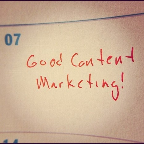 7 Keys to Good Content Marketing | sociallyawesome | Scoop.it