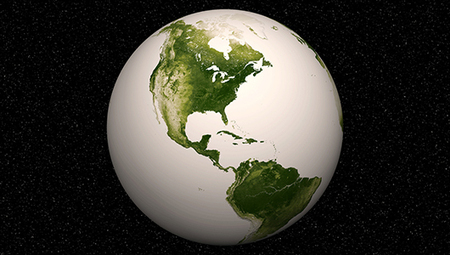 Satellite photos show Earth's plant life from space | Vegetation and Gis | Scoop.it
