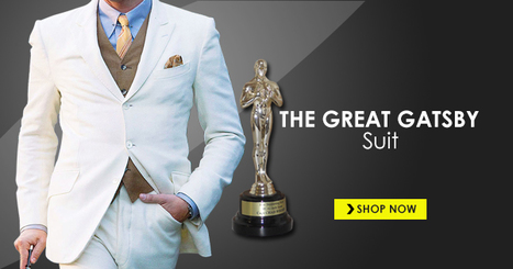 Great Gatsby Suit | Celebs Clothing | celebrities suits | Scoop.it