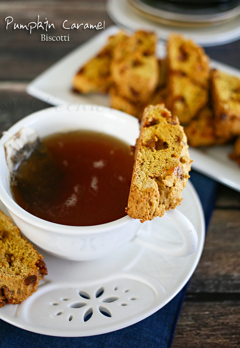 Pumpkin Caramel Biscotti   Christmas Ideas and Gifts   Scoop.it