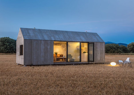 Casa Transportable house ÁPH80 by Ábaton | IMMOBILIER 2014 | Scoop.it