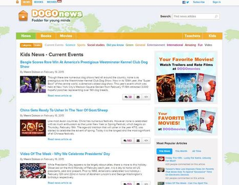 DOGO News - Kids news articles! Kids current events; plus kids news on science, sports, and more! | Education Matters - (tech and non-tech) | Scoop.it