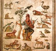 La popularité d'un mythe musical dans l'Antiquité romaine : Orphée musicien charmant les animaux   LeZart   Scoop.it