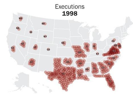Etats-Unis: on exécute beaucoup plus dans le Sud | Géographie au lycée | Scoop.it