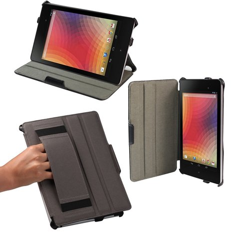 SHARKK - Slim-Fit Multi-angle Stand Cover Case (With Smart Cover Auto Wake / Sleep Feature) | Nexus 7 (2013) Cover Cases | Scoop.it