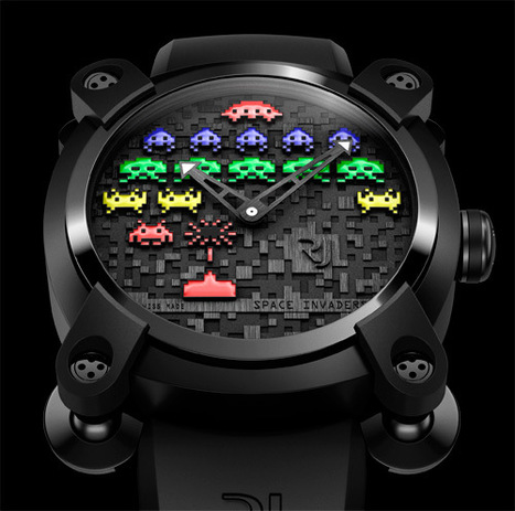 $10,000 Space Invaders Watch Invades Your Wallet | All Geeks | Scoop.it