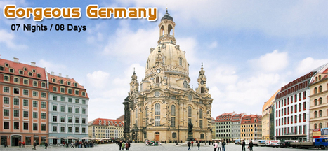 Luxury Germany Holiday Packages, Holidays in Germany 2016. | Europe Group Tours, Holiday Packages, Travel Packages 2017 | Scoop.it