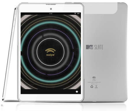 Swipe MTV Slate Tablet launched with 7.85 inch Display | Swipe MTV Slate Tablet | Scoop.it