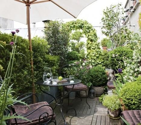 3 conseils de paysagiste pour am nager u - Petit jardin de ville ...