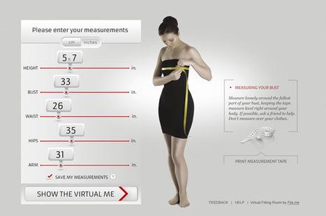 Fits.me : le rideau de la cabine d'essayage virtuel s'ouvre à Paris | Welcome Mr Yakamoto | Scoop.it