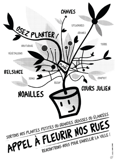 Marseille : Jardinons nos rues  • GG France | saveurs savoirs | Scoop.it